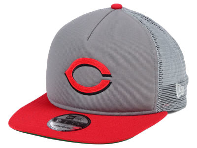 Cincinnati Reds New Era MLB Classic Trucker 9FIFTY Snapback Cap