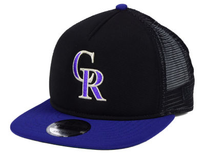 Colorado Rockies New Era MLB Classic Trucker 9FIFTY Snapback Cap