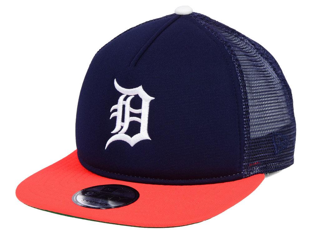 Detroit Tigers New Era MLB Classic Trucker 9FIFTY Snapback Cap ... 50993a2d02b