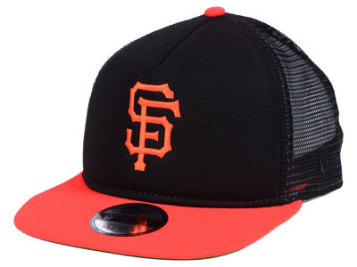 outlet store f8430 3357a ... low cost norway san francisco giants new era mlb classic trucker 9fifty  snapback cap 05e53 aa31c