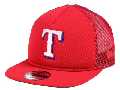 Texas Rangers New Era MLB Classic Trucker 9FIFTY Snapback Cap