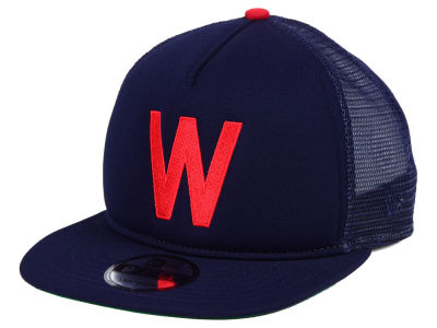 Washington Senators New Era MLB Classic Trucker 9FIFTY Snapback Cap