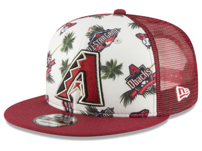 Arizona Diamondbacks New Era MLB Aloha Trucker 9FIFTY Snapback Cap