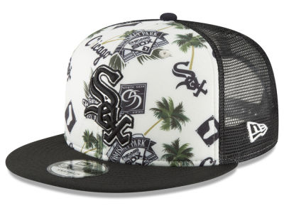 Chicago White Sox New Era MLB Aloha Trucker 9FIFTY Snapback Cap