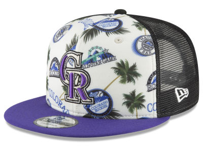 Colorado Rockies New Era MLB Aloha Trucker 9FIFTY Snapback Cap
