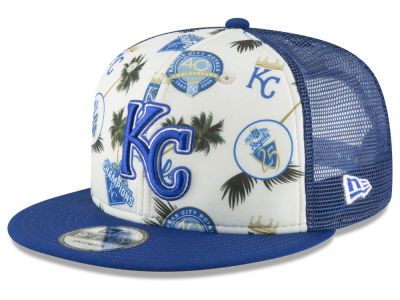 Kansas City Royals New Era MLB Aloha Trucker 9FIFTY Snapback Cap