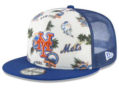 New York Mets New Era MLB Aloha Trucker 9FIFTY Snapback Cap