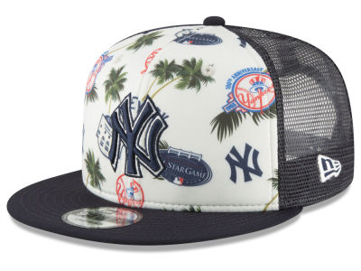 New York Yankees New Era MLB Aloha Trucker 9FIFTY Snapback Cap