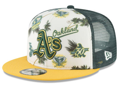 Oakland Athletics New Era MLB Aloha Trucker 9FIFTY Snapback Cap