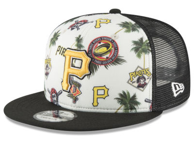 Pittsburgh Pirates New Era MLB Aloha Trucker 9FIFTY Snapback Cap
