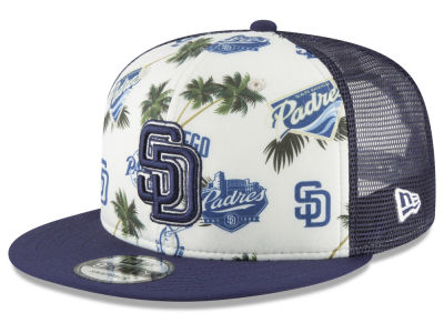 San Diego Padres New Era MLB Aloha Trucker 9FIFTY Snapback Cap