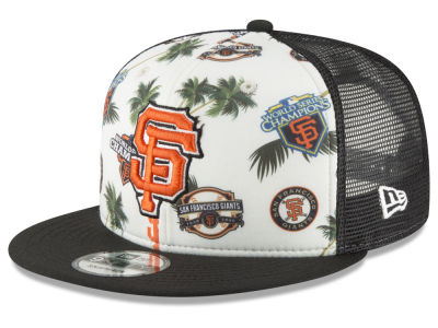 San Francisco Giants New Era MLB Aloha Trucker 9FIFTY Snapback Cap