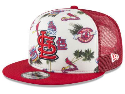 St. Louis Cardinals New Era MLB Aloha Trucker 9FIFTY Snapback Cap