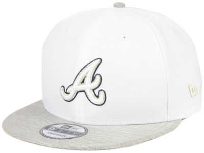 Atlanta Braves New Era MLB Bright Heather 9FIFTY Snapback Cap