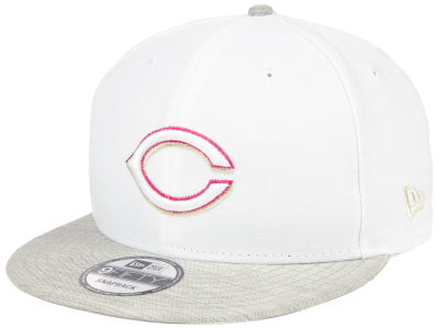 Cincinnati Reds New Era MLB Bright Heather 9FIFTY Snapback Cap