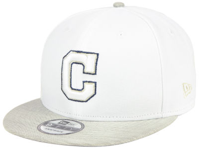 Cleveland Indians New Era MLB Bright Heather 9FIFTY Snapback Cap