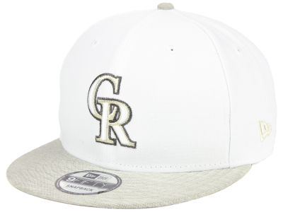 Colorado Rockies New Era MLB Bright Heather 9FIFTY Snapback Cap