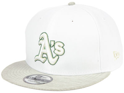 Oakland Athletics New Era MLB Bright Heather 9FIFTY Snapback Cap
