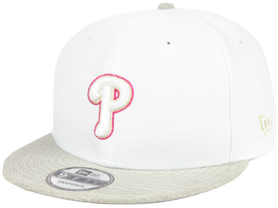 Philadelphia Phillies New Era MLB Bright Heather 9FIFTY Snapback Cap