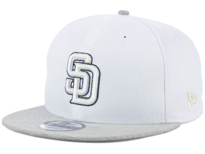 San Diego Padres New Era MLB Bright Heather 9FIFTY Snapback Cap