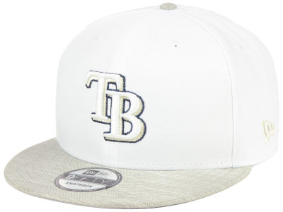 Tampa Bay Rays New Era MLB Bright Heather 9FIFTY Snapback Cap