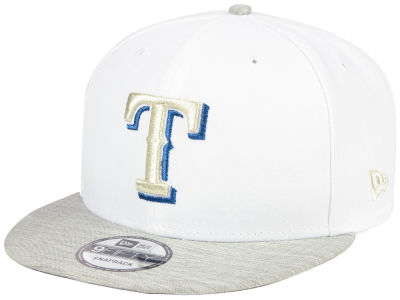 Texas Rangers New Era MLB Bright Heather 9FIFTY Snapback Cap