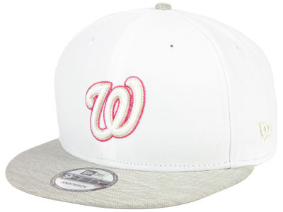 Washington Nationals New Era MLB Bright Heather 9FIFTY Snapback Cap