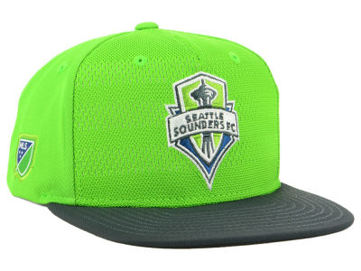 Seattle Sounders FC adidas MLS Authentic Snapback Cap