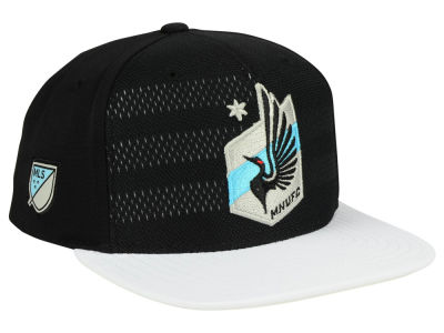 Minnesota United FC adidas MLS Authentic Snapback Cap