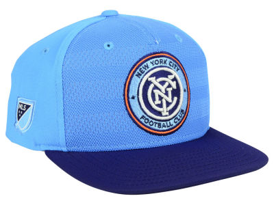 New York City FC adidas MLS Authentic Snapback Cap