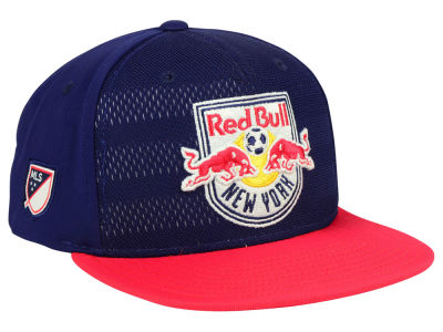 New York Red Bulls adidas MLS Authentic Snapback Cap