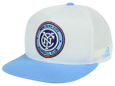 New York City FC adidas MLS 2Tone Snapback Cap