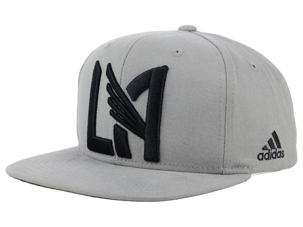 Los Angeles Football Club adidas MLS Gray Snapback Cap  5d798bc995f