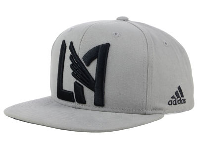 Los Angeles Football Club adidas MLS Gray Snapback Cap