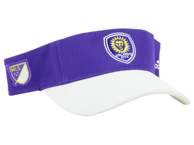 sports shoes 0ccaa 10684 Orlando City SC adidas 2018 MLS Authentic Visor