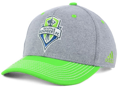 Seattle Sounders FC adidas MLS Structure Adjustable Cap