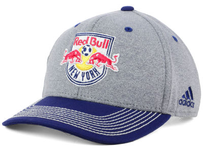 New York Red Bulls adidas MLS Structure Adjustable Cap