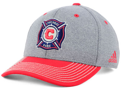 Chicago Fire adidas MLS Structure Adjustable Cap