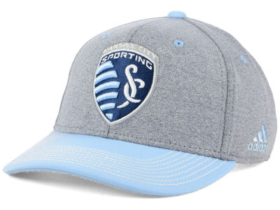 Sporting Kansas City adidas MLS Structure Adjustable Cap