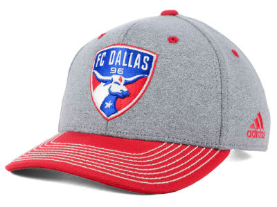 FC Dallas adidas MLS Structure Adjustable Cap