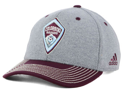 Colorado Rapids adidas MLS Structure Adjustable Cap