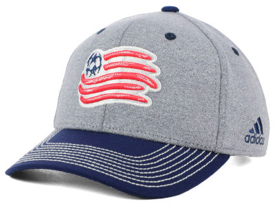 New England Revolution adidas MLS Structure Adjustable Cap
