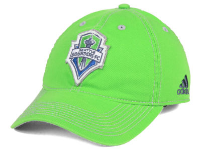 Seattle Sounders FC adidas MLS Sand Blast Adjustable Cap