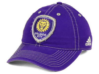 Orlando City SC adidas MLS Sand Blast Adjustable Cap