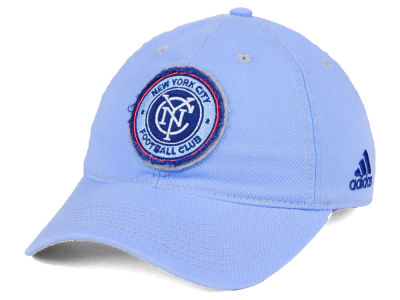 New York City FC adidas MLS Sand Blast Adjustable Cap