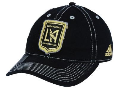timeless design 948ab 01a2f Los Angeles Football Club adidas MLS Sand Blast Adjustable Cap