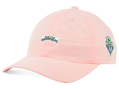 Seattle Sounders FC adidas MLS Pink Easy Adjustable Cap