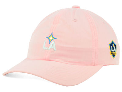 LA Galaxy adidas MLS Pink Easy Adjustable Cap