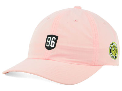Columbus Crew SC adidas MLS Pink Easy Adjustable Cap