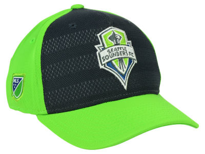 Seattle Sounders FC adidas MLS Authentic Flex Cap